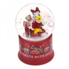 Japan Disney Christmas Snow Globe - Daisy Duck