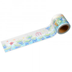 Disney Japanese Washi Paper Masking Tape - Toy Story Little Green Men Aliens