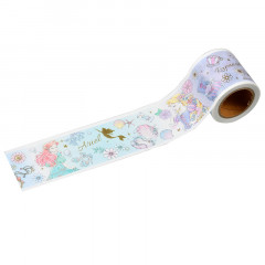 Disney Japanese Washi Paper Masking Tape - Princess Ariel Alice Rapunzel