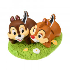 Japan Disney Figures Card Stand - Chip & Dale