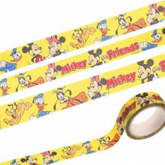 Disney Japanese Washi Paper Masking Tape - Micky Mouse & Friends