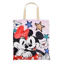 Japan Disney Eco Shopping Bag - Micky & Minnie Always Better Together