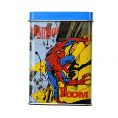 Japan Marval Comics Memo Pad with Tin Can - Spider Man