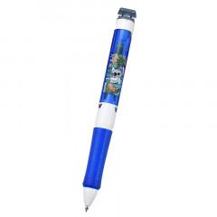 Japan Disney 3 Color Ballpoint Pen & Correction Tape - Stitch