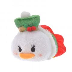 Japan Disney Tsum Tsum Mini Plush - Daisy × Christmas 2019