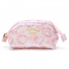 Japan Sanrio Cosmetic Makeup Pouch - My Melody Flower