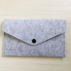 Needle Felting Pouch - Light Gray