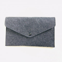 Needle Felting Pouch - Dark Gray