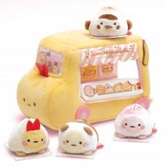 Japan Sumikko Gurashi Plush - Bread Mochi Mochi & Scene