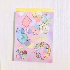 Japan Sumikko Gurashi B8 Mini Notepad - Night
