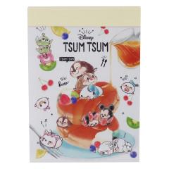 Japan Disney B8 Mini Notepad - Tsum Tsum Pancake