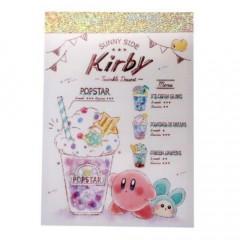 Japan Kirby B8 Mini Notepad - Dessert