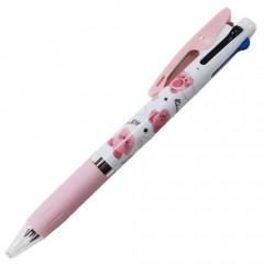 Japan Kirby × Jetstream 3 Color Multi Pen - Light Pink