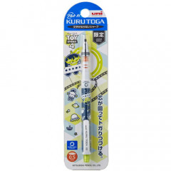 Japan Disney × Uni Kuru Toga Auto Lead Rotation 0.5mm Mechanical Pencil - Toy Story Little Green Men