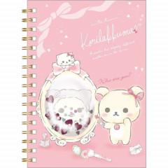 San-X Rilakkuma A6 Notebook - Korilakkuma & Mirror