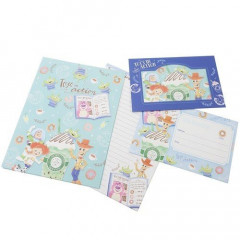 Japan Disney Letter Envelope Set - Toy Story in Action