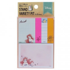 Japan Disney Sticky Notes - Princess Little Mermaid Ariel Watercolor