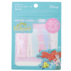 Japan Disney Seal Flake Sticker - Princess Little Mermaid Ariel