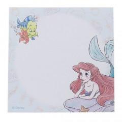 Japan Disney Sticky Memo - Princess Little Mermaid Ariel Watercolor