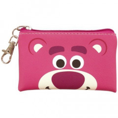 Japan Disney Coin Purse Mini Pouch - Toy Story Lotso Faces