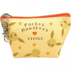 Japan Pokemon Coin Purse Mini Pouch - Eevee