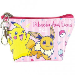 Japan Pokemon Coin Purse Mini Pouch - Pikachu & Eevee