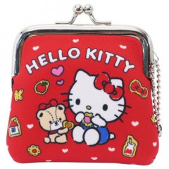 Sanrio Coin Purse Mini Pouch - Hello Kitty Red