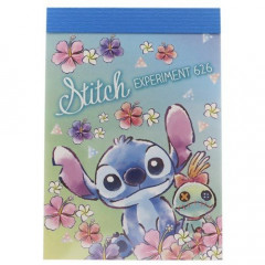 Japan Disney B8 Mini Notepad - Stitch Experiment 626