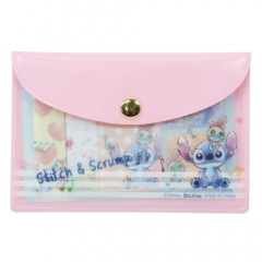 Japan Disney Stitch Sticky Notes & Folder Set