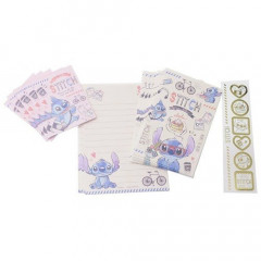 Japan Disney Mini Letter Envelope Set - Stitch