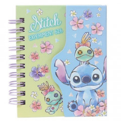 Japan Disney A7 Notebook - Stitch Experiment 626