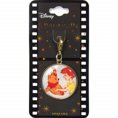 Japan Disney Key Charms - Winnie the Pooh & Christopher
