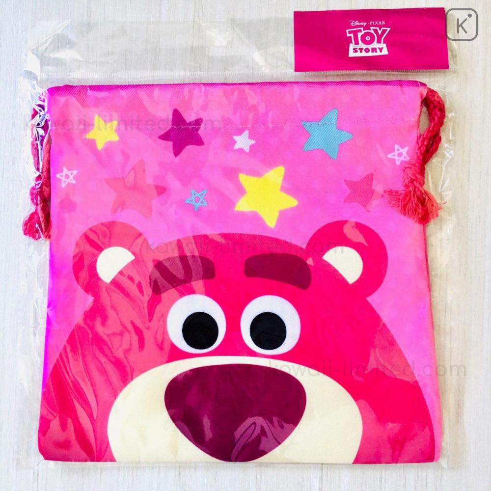 Disney Drawstring Bag Lotso Faces