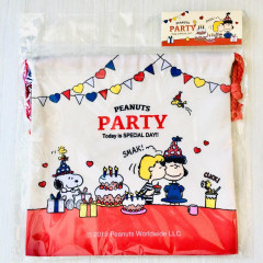 Japan Snoopy Drawstring Bag - Party Time