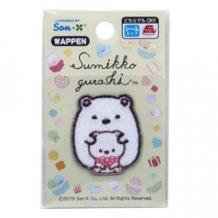 Japan Sumikko Gurashi Embroidery Iron-on Applique Patch - Bear & Bear