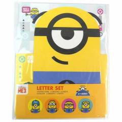 Japan Despicable Me Minions Letter Envelope Set