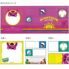 Japan Disney Sticky Memo - Toy Story Lotso Bear