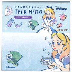 Japan Disney Store Alice in Wonderland Paper Memo