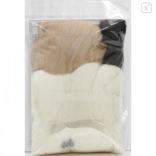 Japan Hamanaka Wool Needle Felting Kit - Shih Tzu Dog - 4