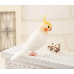 Japan Hamanaka Wool Needle Felting Kit - Cockatiel