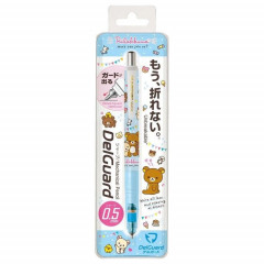 Japan Rilakkuma Zebra DelGuard 0.5mm Lead Mechanical Pencil - Sky Blue