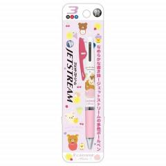 Japan Rilakkuma Jetstream 3 Color Multi Pen - Pink