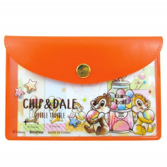 Japan Disney Chip & Dale Sticky Notes & Folder Set