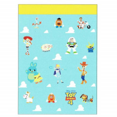 Japan Disney B8 Mini Notepad - Toy Story 4 Characters