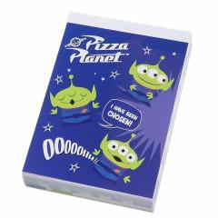 Japan Disney B8 Mini Notepad - Toy Story Alien Little Green Men