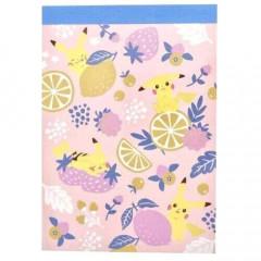 Japan Pokemon Mini Notepad - Pikachu Days