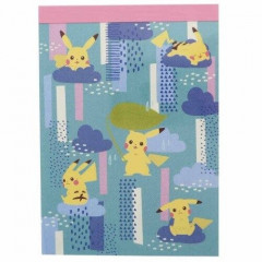 Japan Pokemon B8 Mini Notepad - Pikachu Days