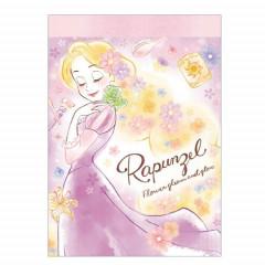 Japan Disney B8 Mini Notepad - Princess Rapunzel