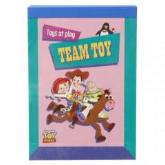 Japan Disney B8 Mini Notepad - Toy Story Team Toy