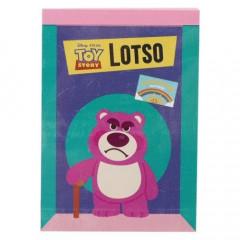 Japan Disney B8 Mini Notepad - Toy Story Lotso Bear
